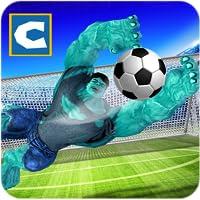 Superhero Soccer Challenging Game