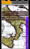 Italia alla fine del XIX secolo: Research Italy