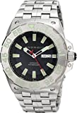 ANDROID Men's AD702BK Corsair Analog Japanese-Automatic Silver Watch