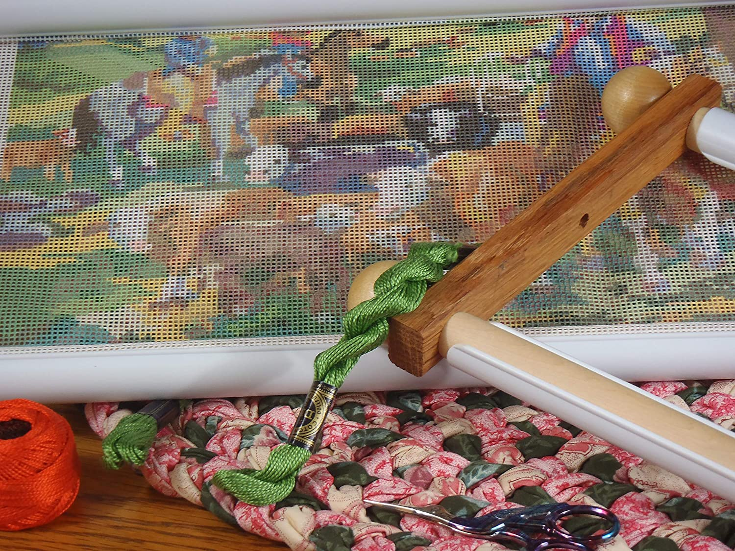 20-Inch Edmunds Handi Clamp Scroll Rods with Clamps