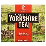 Yorkshire Tea 80 Tea Bags