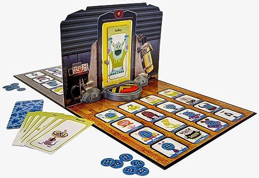 Monsters University WhoS Behind The Door - Juego de Tablero, 2 Jugadores (Spinmaster SMT34164) [Importado de Inglaterra]: Amazon.es: Juguetes y juegos