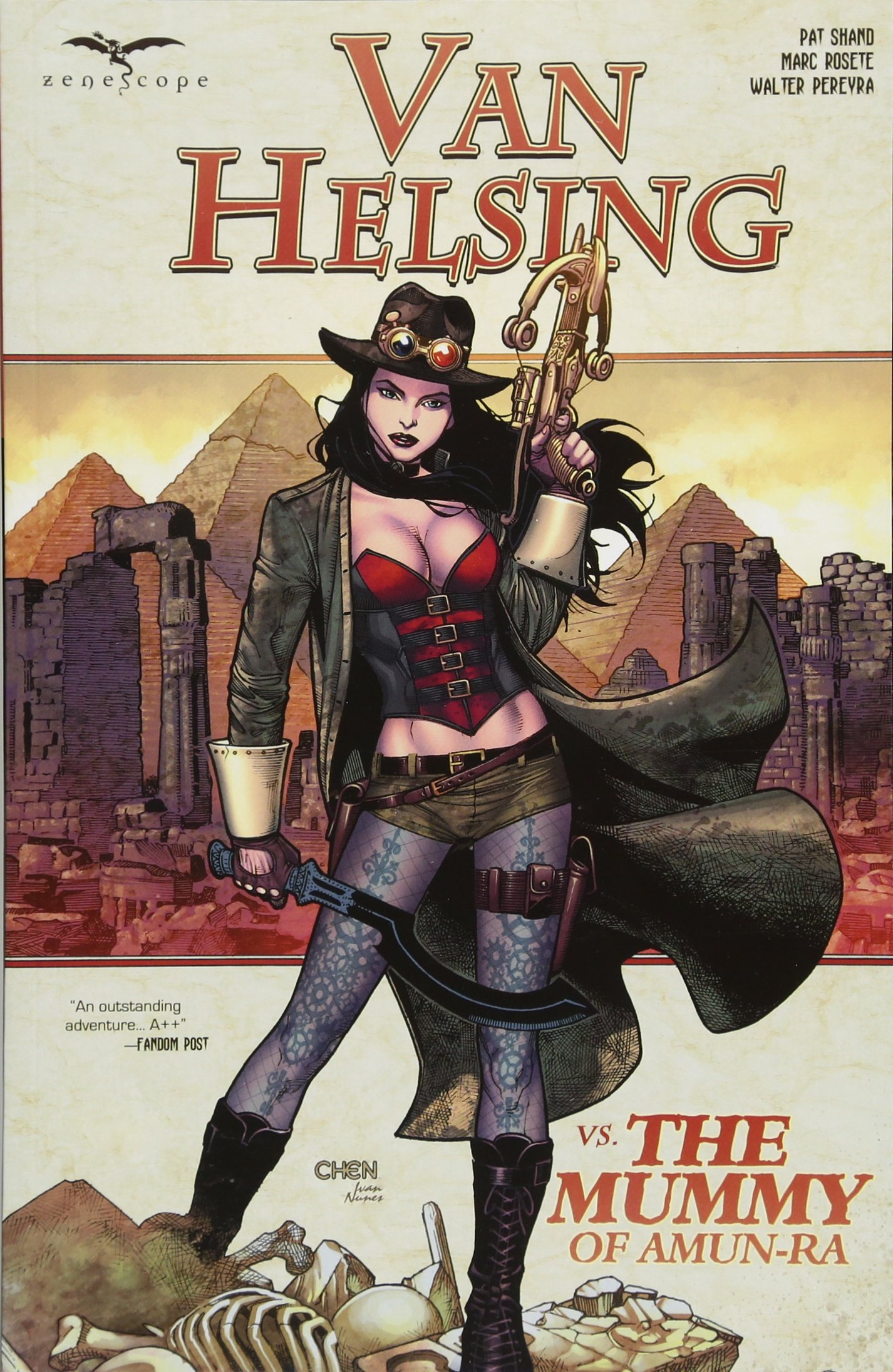Van Helsing vs The Mummy of Amun - Ra ebook