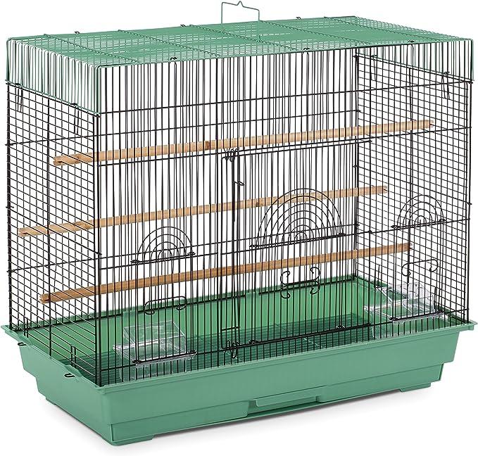 Prevue Pet Products SP1804-4 Jaula de Vuelo, Verde/Negro