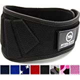 Fitplicity Weigh lifting Belt, For Weightlifting, CrossFit, Olympic Lifting, Powerlifting, Squat and Deadlifts, 6 Inch Back Support for Men and Women
