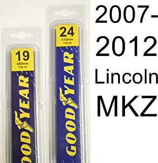 """product image for Lincoln MKZ (2007-2012) Wiper Blade Kit - Set Includes 24"""" (Driver Side), 19"""" (Passenger Side) (2 Blades Total)"""