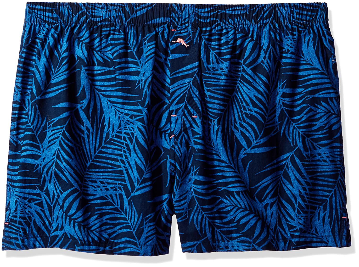 Tommy Bahama Men's Midnight Leaves Printed Woven Boxer, TB71507XB