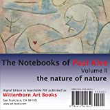 Paul Klee. The Notebooks of Paul Klee. Volume 2. The nature of nature.