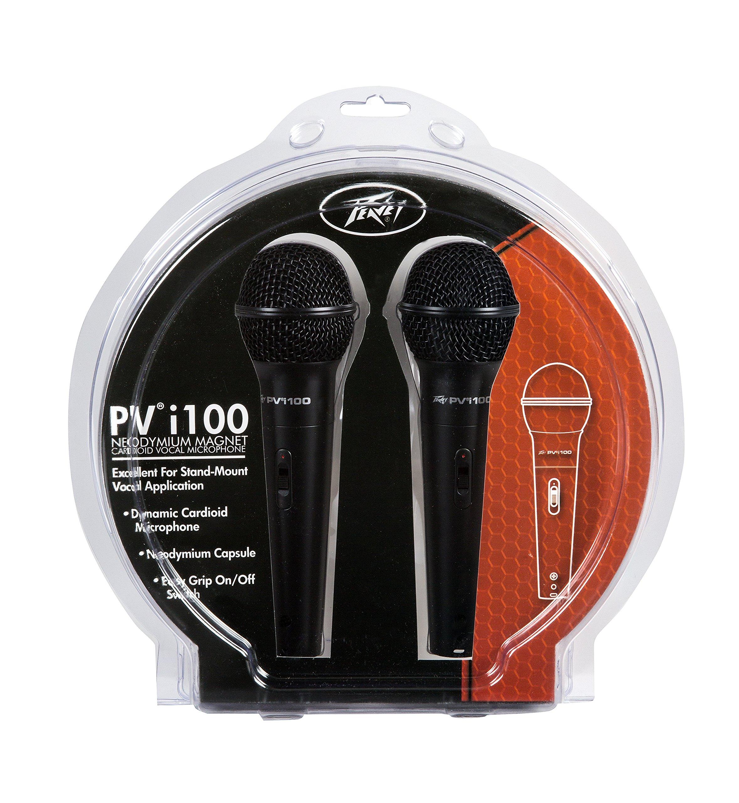Microfono Peavey Pvi 100 - 2-Pack Dynamic Cardiod s...