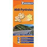 Michelin Map France: Midi Pyrenees MH525 (Maps/Regional (Michelin)) (English and French Edition)