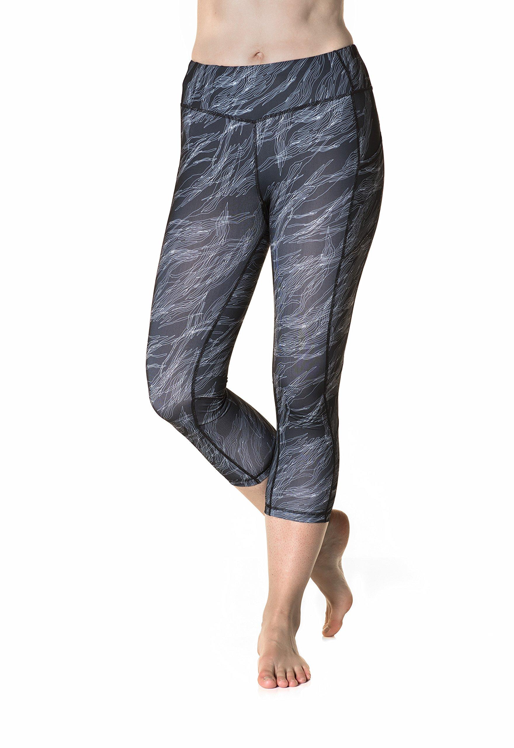 Skirt Sports Pocketopia Capri, Night Dive Print, X-Large by Skirt Sports