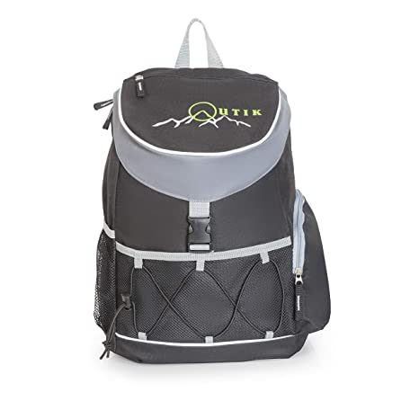 Outik Backpack Cooler – Insulated Waterproof Bag - Multiple Compartments -  Hiking 34c22b28a4