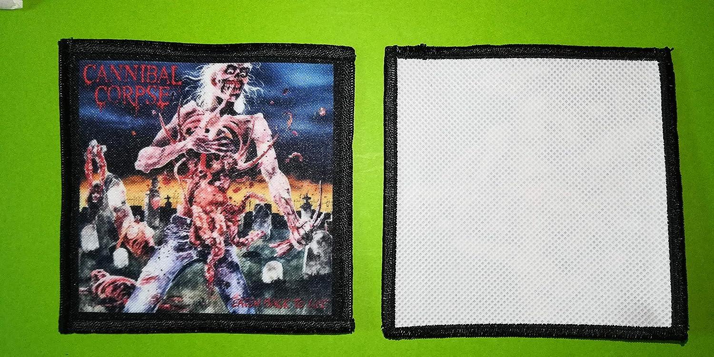 BLUE HAWAI PL0031 ECUSSON Patches AUFNAHER Toppa 10 CM Cannibal Corpse 2 A Coudre 10