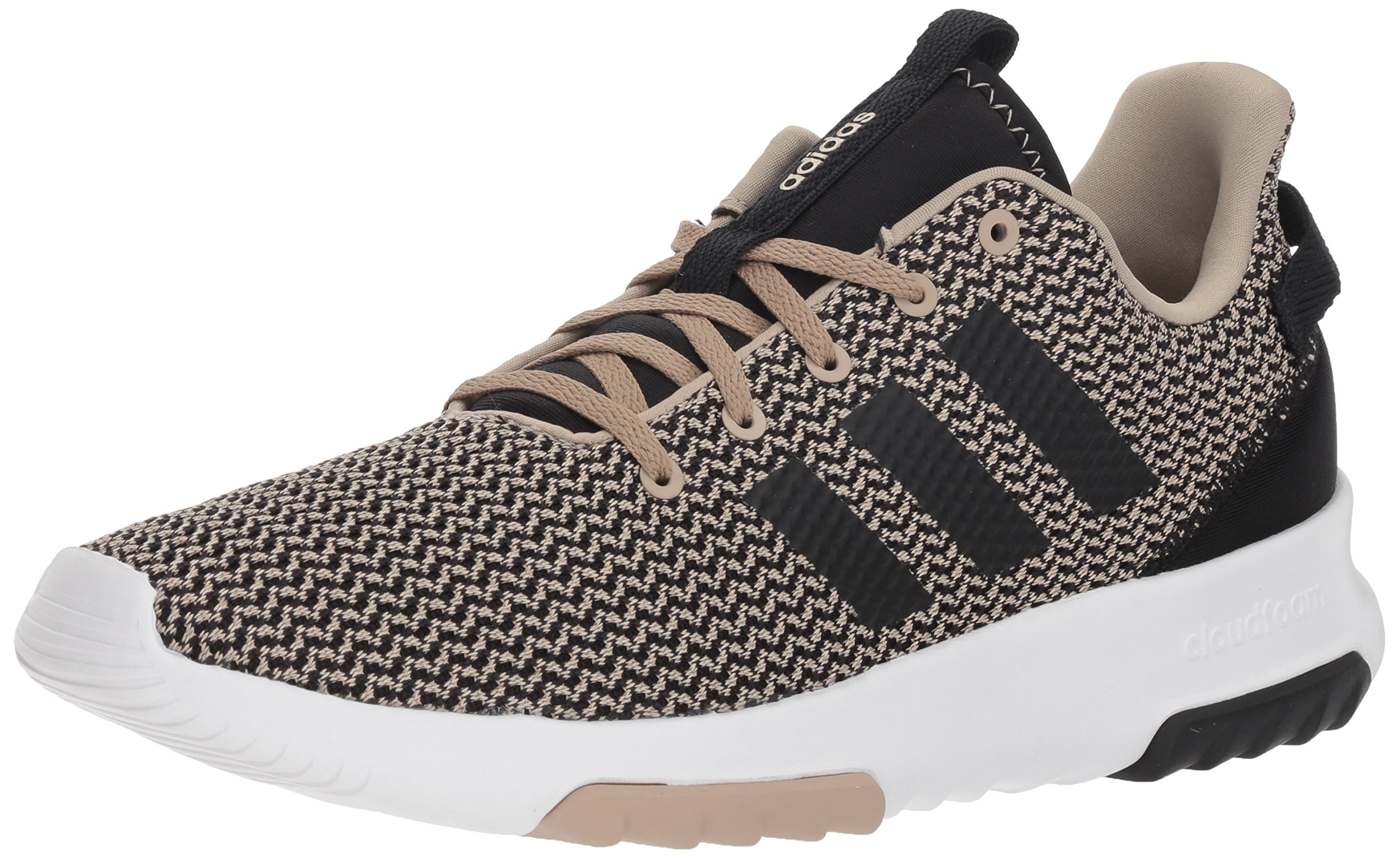 adidas Men's CF Racer TR Running Shoe, trace khaki/black/trace khaki, 10 M US