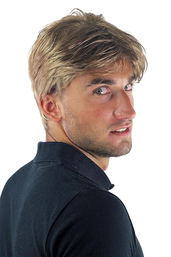 Peluca masculina, Wig para hombres, corto, juvenil, informal ...