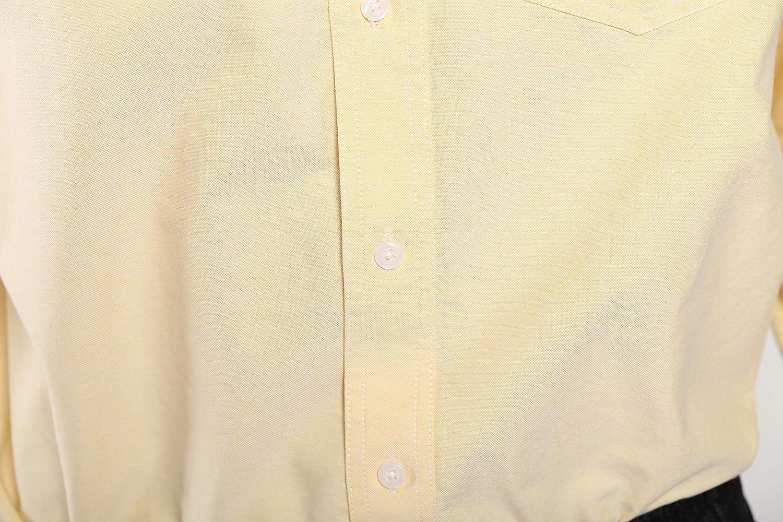 Seeksmile Mens Slim Fit Oxford Shirts