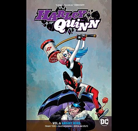 Amazon Com Harley Quinn 2016 Vol 6 Angry Bird Harley Quinn 2016 Ebook Tieri Frank Miranda Inaki Miranda Inaki Kindle Store