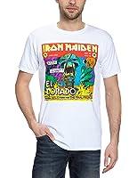 Collectors Mine Men's Iron Maiden - El Dorado Short Sleeve T-Shirt