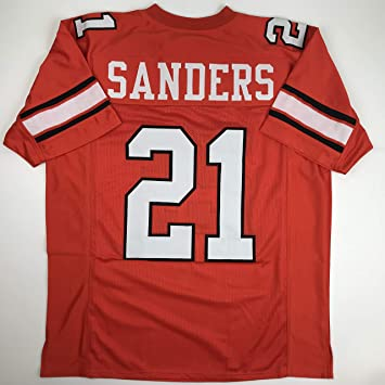 dfb90dee569 Amazon.com  Unsigned Barry Sanders Oklahoma State OKST Orange Custom  Stitched College Football Jersey Size Men s XL New No Brands Logos  Sports  Collectibles
