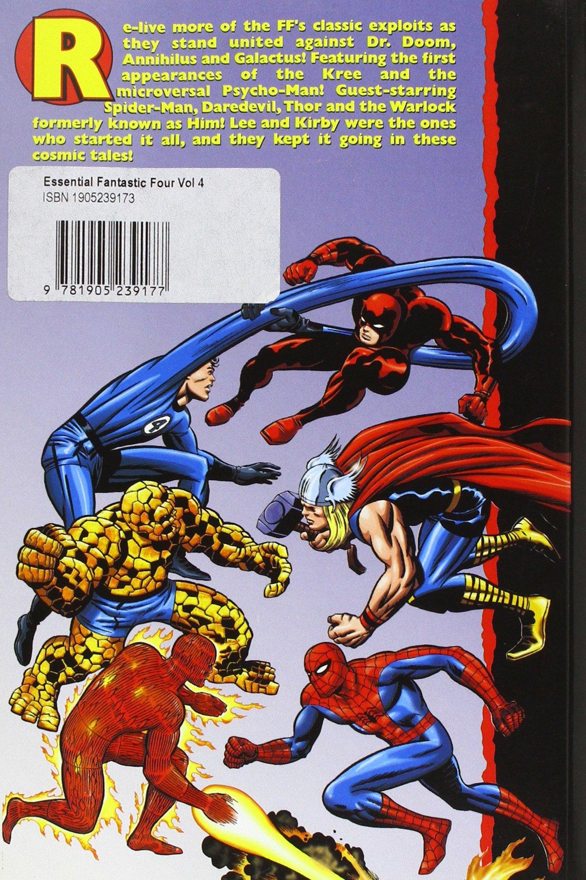 Lee, S: Essential Fantastic Four Vol.4: v. 4: Amazon.es: Lee, Stan: Libros en idiomas extranjeros
