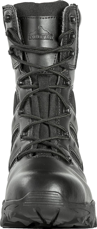 TALLA 40 EU. Portwest FW65 - Steelite Grupo de Trabajo de arranque 40/6.5, color Negro, talla 40