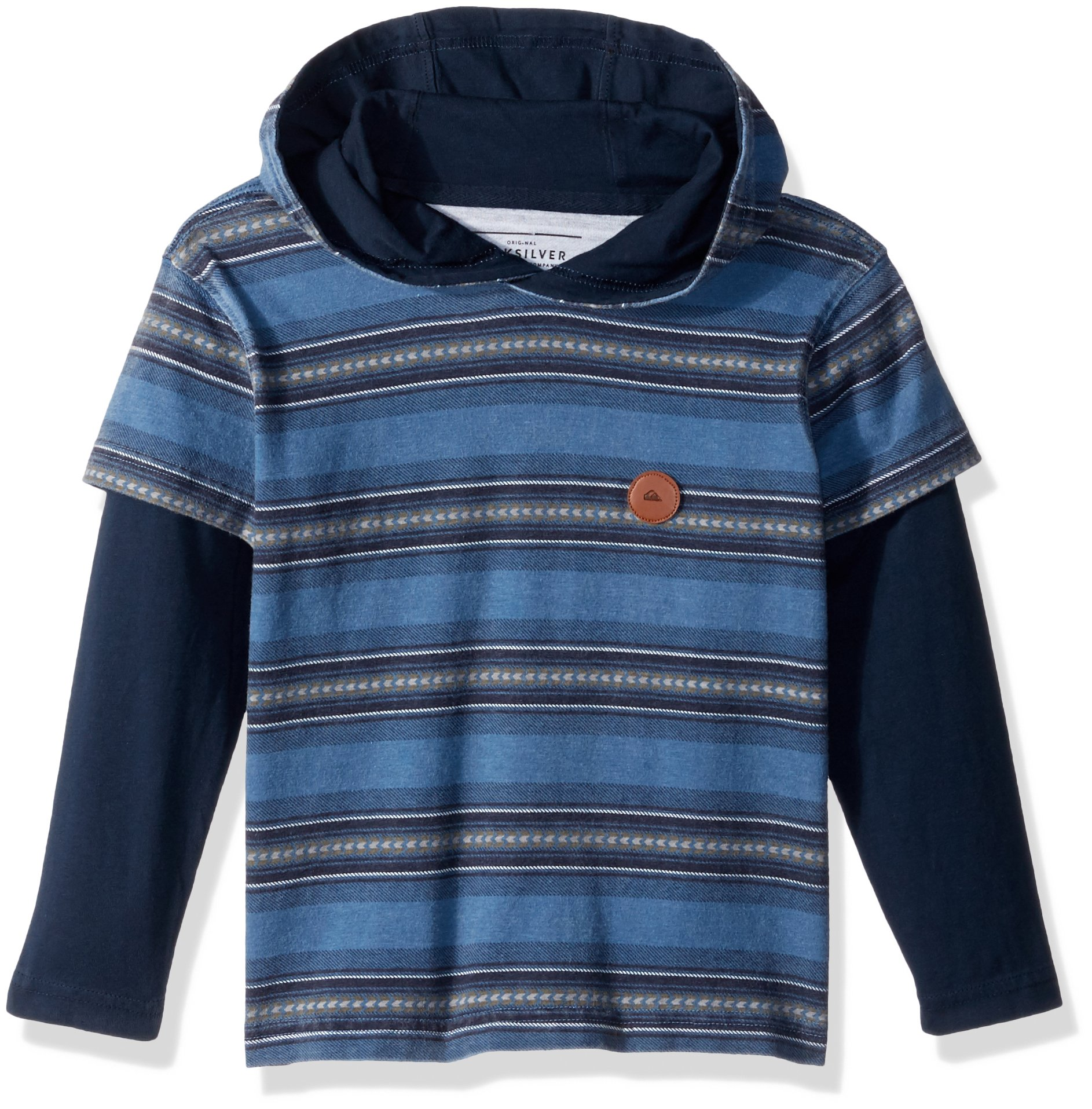Quiksilver Little Boys' Haleiwa Kids, Navy Blazer, 5