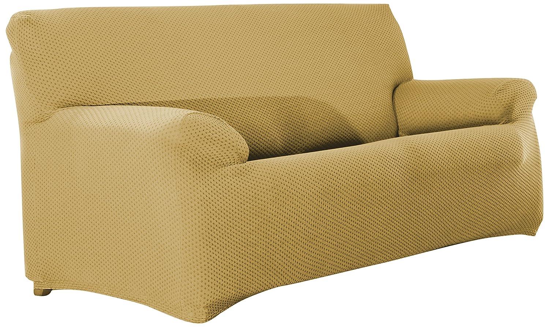 Eysa Sucre Funda de sofá de 2 plazas, Tela, Crudo, 37 x 14 x 29 cm