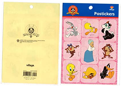 Looney Tunes STICKER DECAL TAZ DEVIL PIOLIN VILLAGE