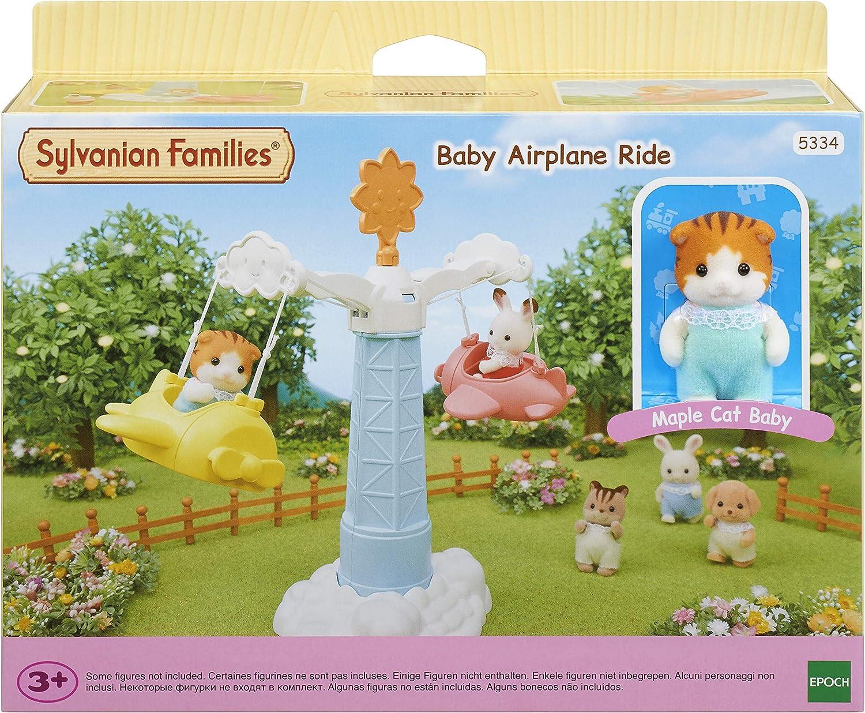 Sylvanian Families - 5334 - Tiovivo de la guardería: Amazon.es: Juguetes y juegos