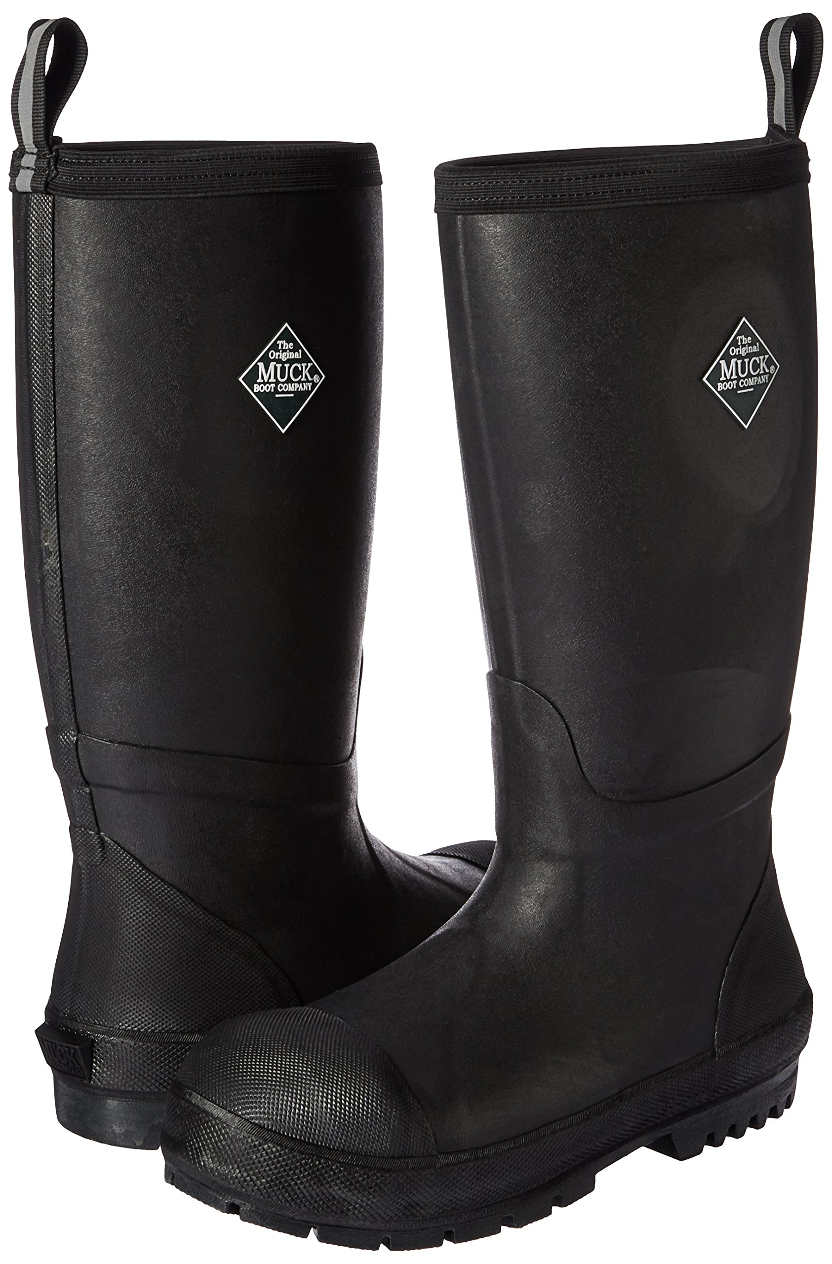 Muck Boot Men's Chore Resistant Tall Steel Toe Work Boot, Black, 10 US/10-10.5 M US by Muck Boot (Image #6)