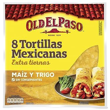 Old el Paso, Tortita de trigo y maíz - 335 gr.