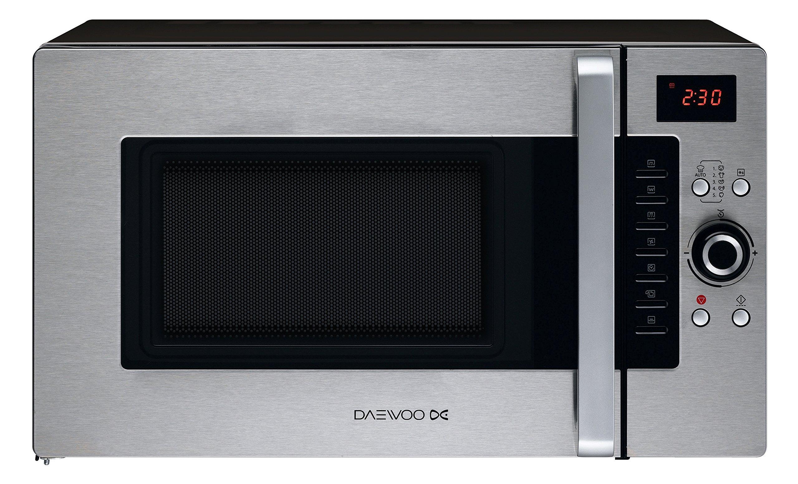 Daewoo KOC-9Q4T Microondas, 28 litros, Digital, Grill, Acero Inoxidable, 900 W, INOX product image