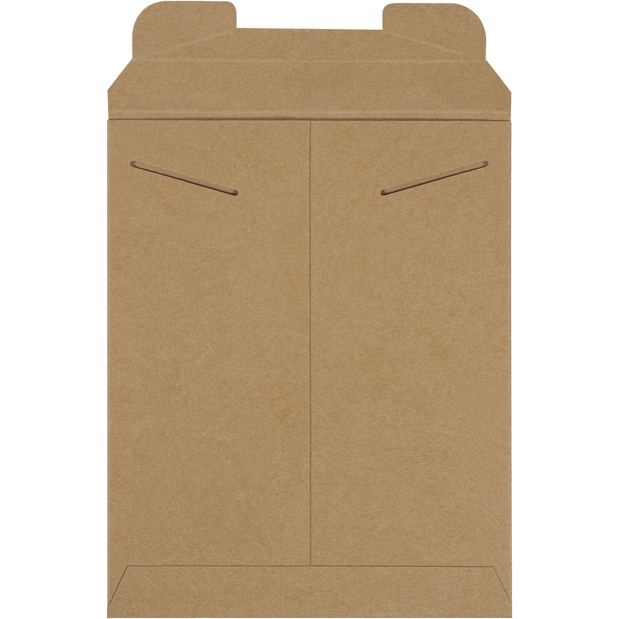 Aviditi RM5 Chipboard Flat Mailer, 12-1/4'' Length x 9-3/4'' Width, 0.038'' Thick, Kraft (Case of 100) by Aviditi (Image #2)