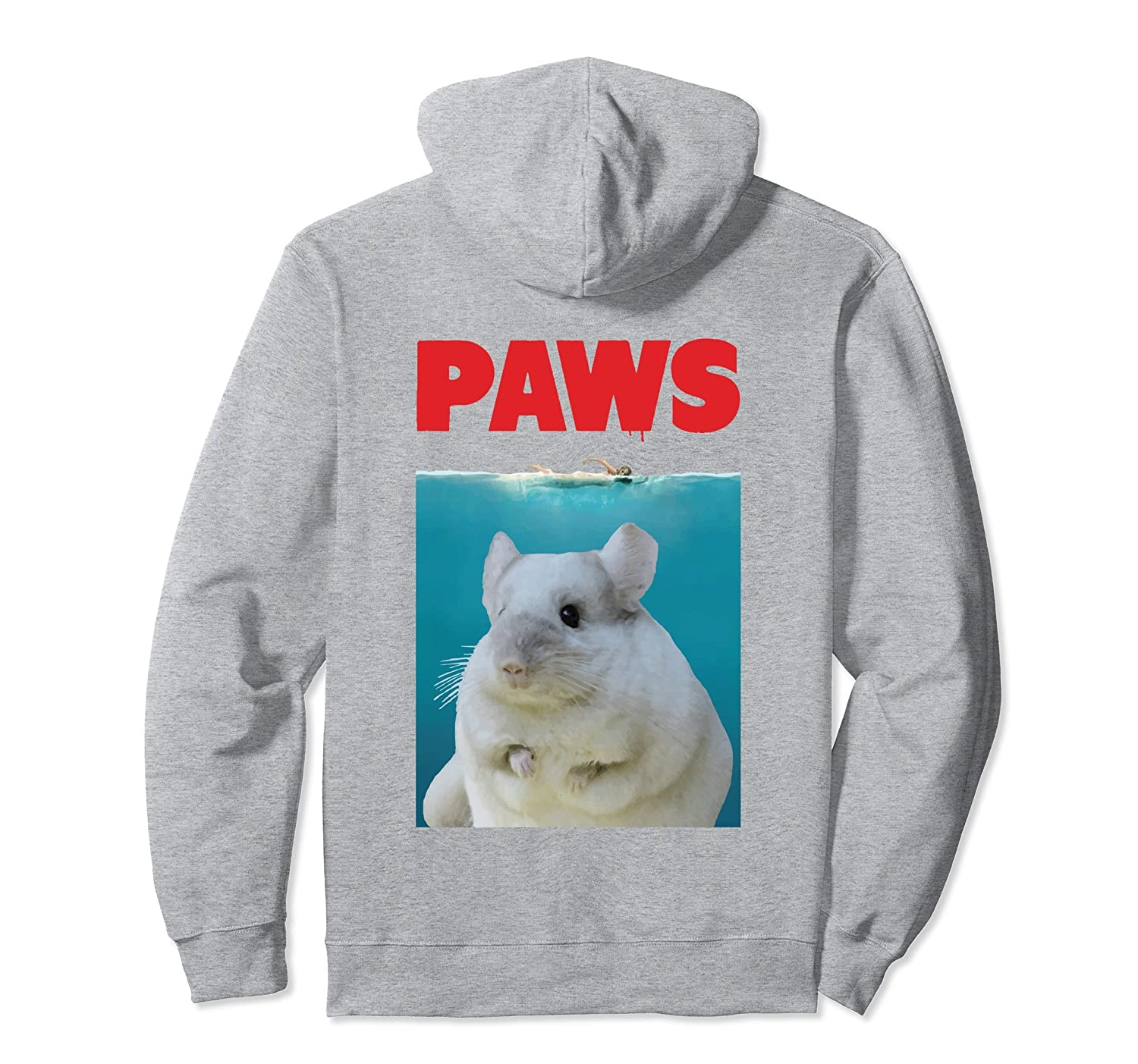 551fb2563 Paws Chinchilla Funny Hoodie Parody | Chinchillin' Gifts-Colonhue ...