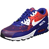 Nike Kid's Air Max 90 PRM Mesh (GS) Running Shoe