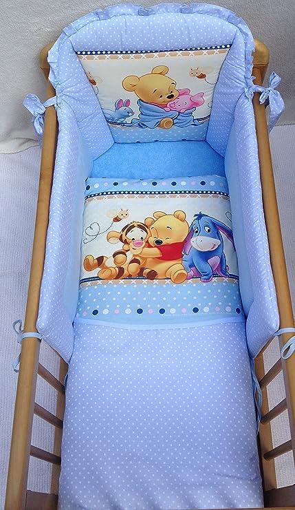 Winnie The Pooh Lenzuola.Disney Peluche Di Winnie The Pooh Set Di Lenzuola Per Culla Colore