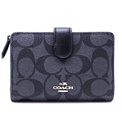 a6ee32c51ed5 [コーチ] COACH 財布 二つ折り財布 長財布 レディース シグネチャー 23553SVDK6 [アウトレット品
