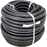 GS Power 1/2' | 50ft Split Loom Tube Polyethylene PE High Temperature Automotive, Marine, Industrial Electrical Wire…