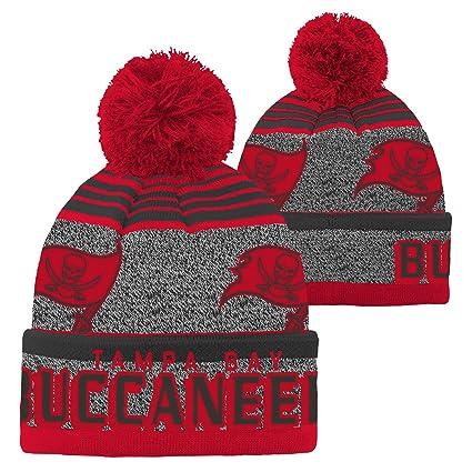 Amazon.com   NFL Youth Boys Cuff Pom Hat-Red-1 Size 7f245bbbacf