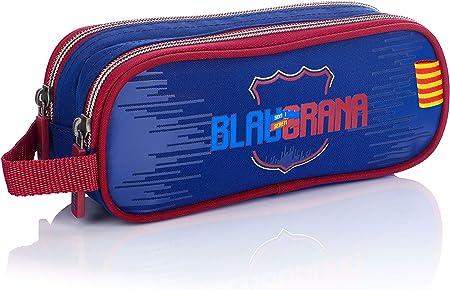FC Barcelona FC-227 Fan 7 - Estuche (22 cm), Color Azul Marino: Amazon.es: Equipaje