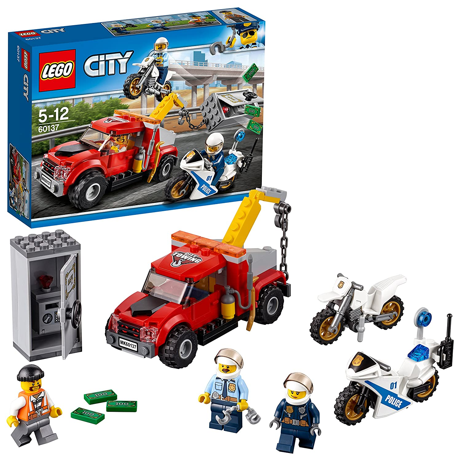 LEGO City - La poursuite du braqueur - 60137 - Jeu de Construction