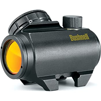 Bushnell Trophy TRS-25 Red Dot Sight Riflescope, 1 x 25mm (tilted front lens)