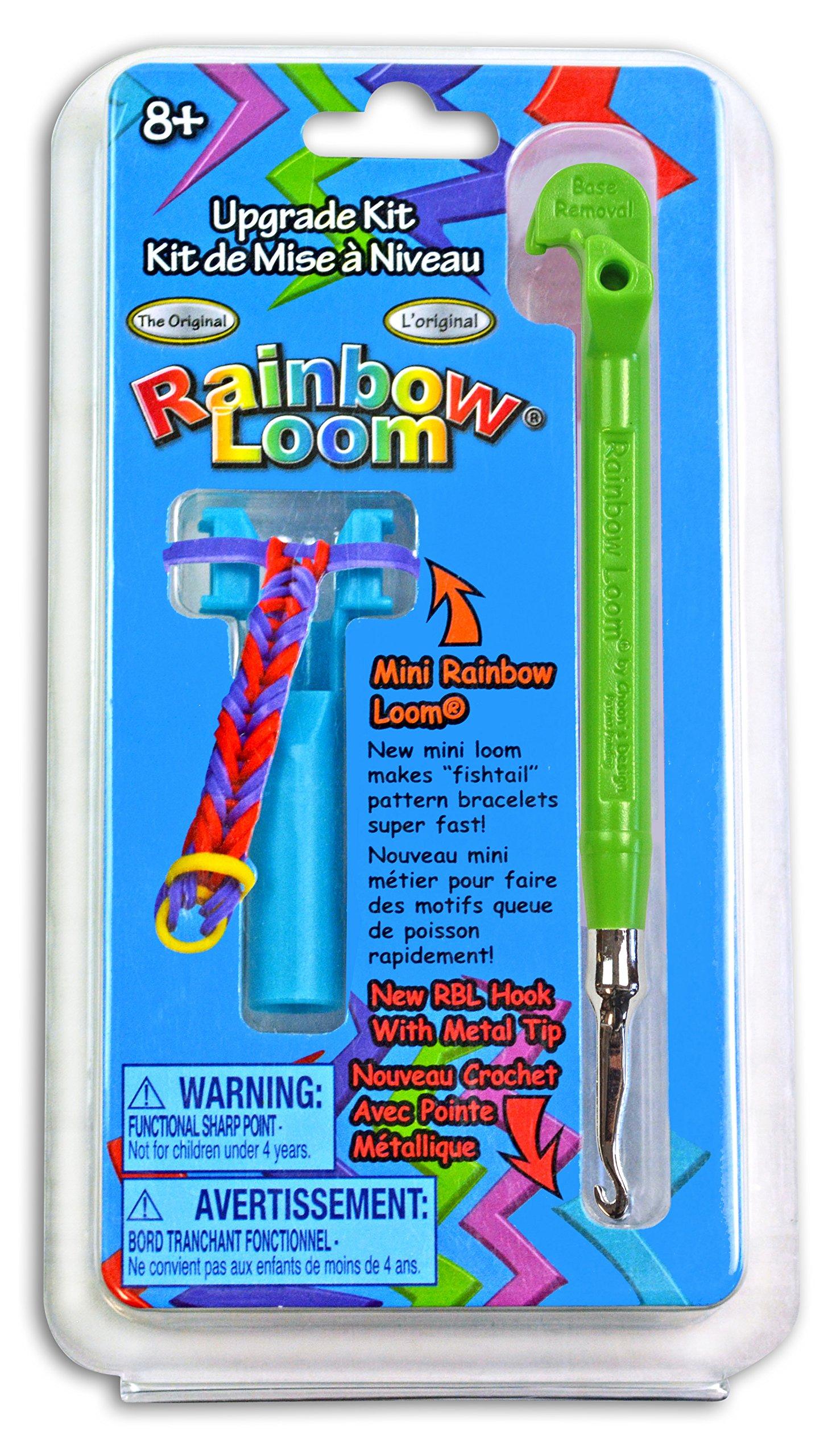 Rainbow Loom Upgrade Kit - Green Metal Hook product image