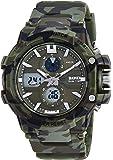Skmei Analog-Digital Green Dial Men's Watch - 990-Camo