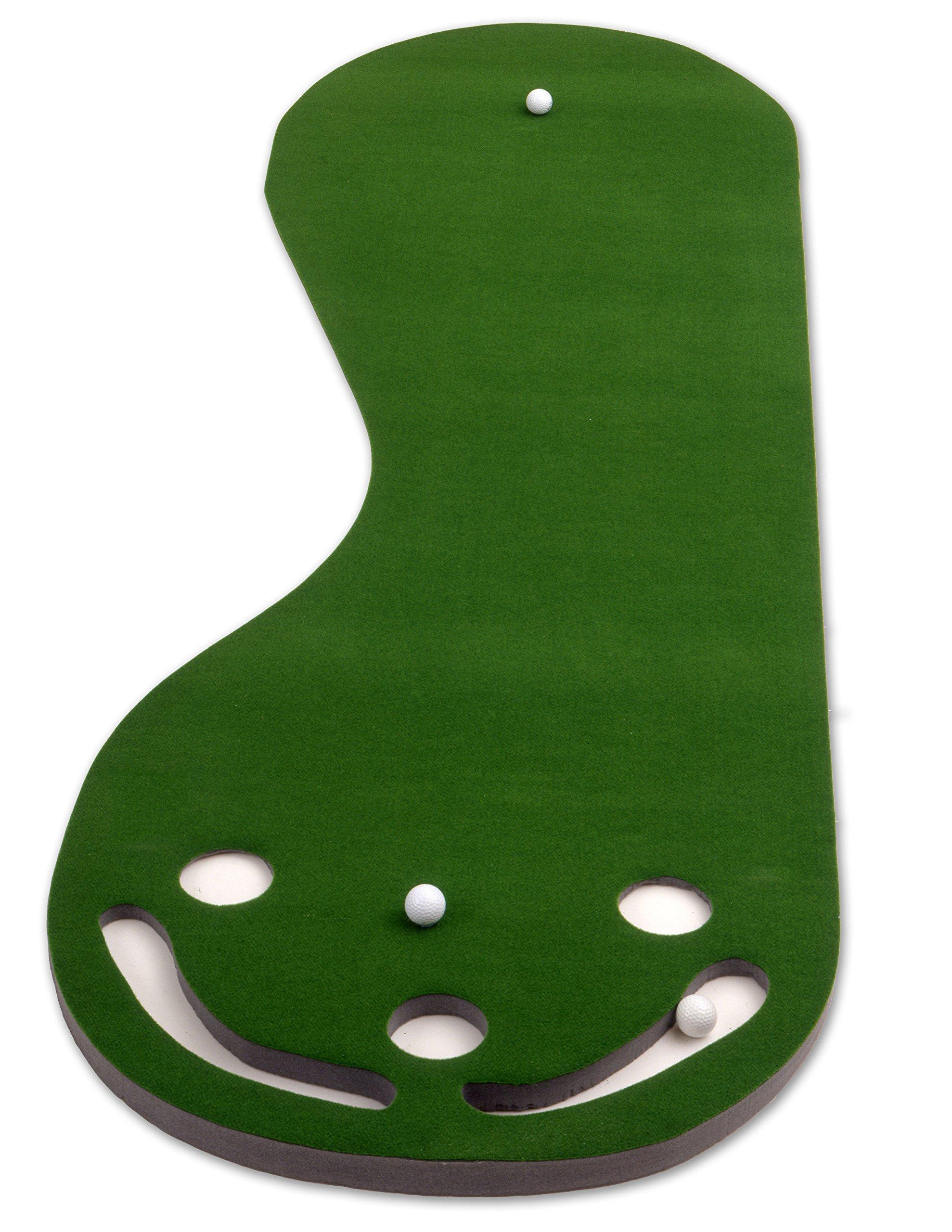 Putt-A-Bout Grassroots Par Three Putting Green (9-feet x 3-feet) by Putt-A-Bout