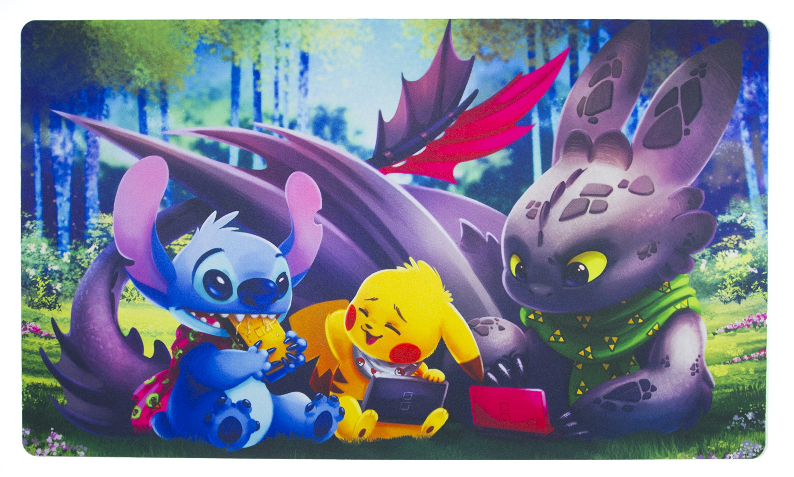 Inked Playmats Game On Playmat Inked Gaming Perfect for Pokemon - Pokémon TCG Game Mat