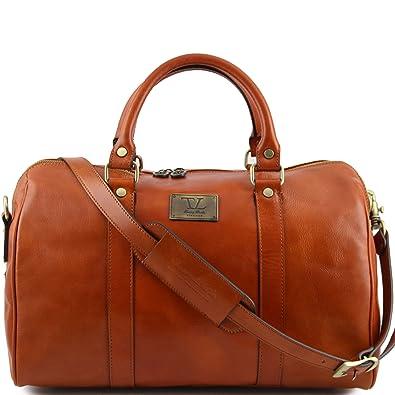 Tuscany Leather - Sac de voyage en cuir - Miel LPaRKI