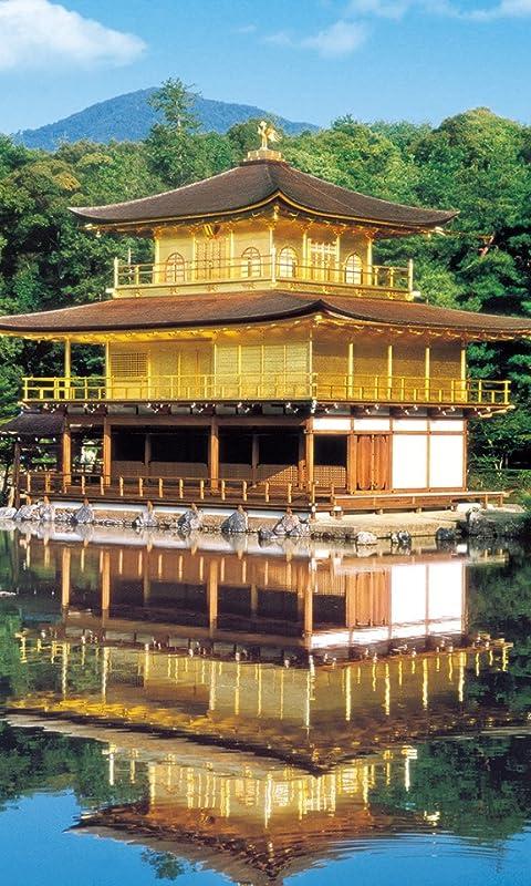 世界遺産 鹿苑寺(ろくおんじ) FVGA(480×800)壁紙 画像60722 スマポ