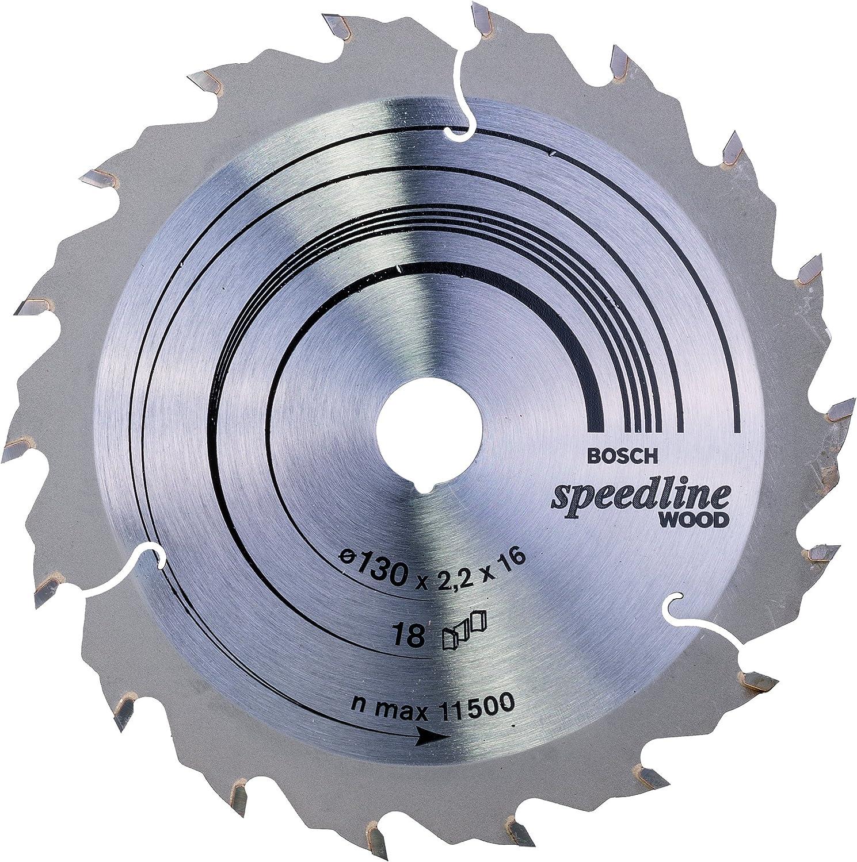 160 x 16 x 2,4 mm BOSCH Kreissägeblatt Speedline Wood