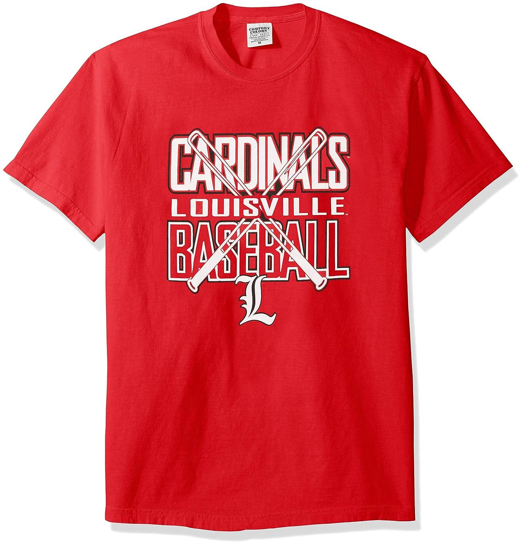 宅配 NCAA Louisville Louisville Cardinals Baseball Bats半袖快適カラーTシャツ、ミディアム Cardinals B01N550OHR、レッド B01N550OHR, こどもふくセレクトショップavion:accd6c2f --- a0267596.xsph.ru